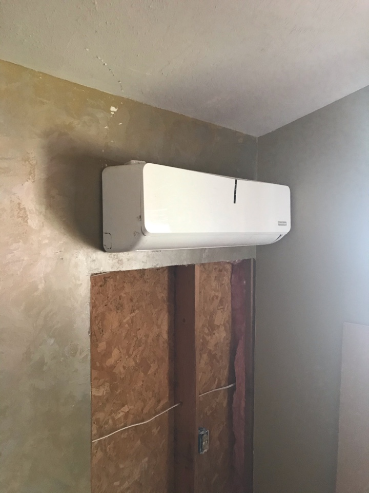 Estimate to replace existing existing HVAC system with new Daikin Cold Weather mini split