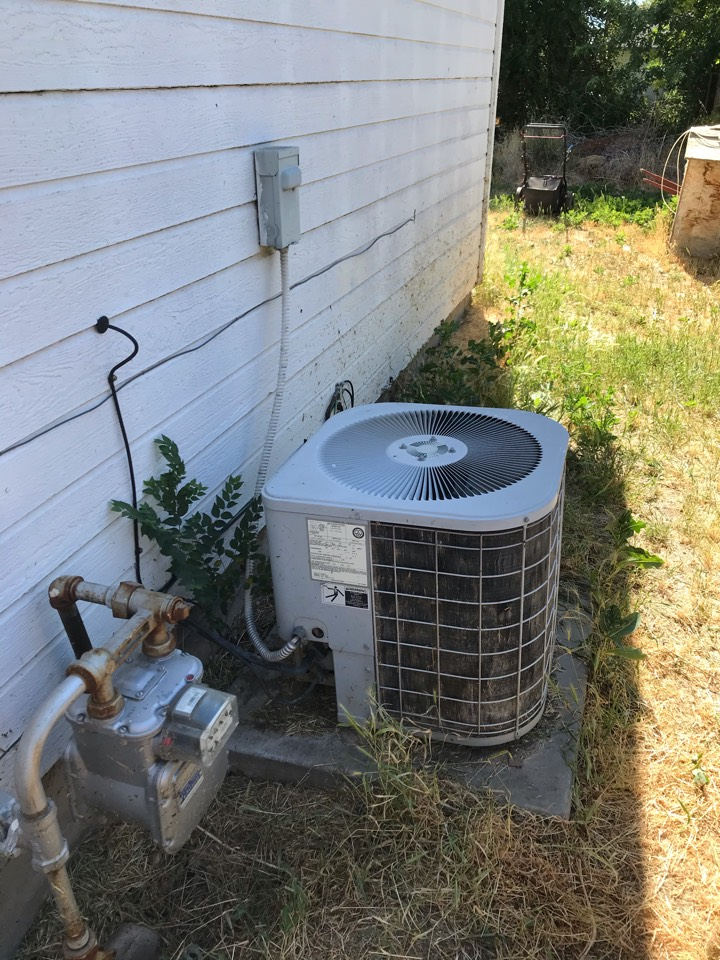 Estimate to replace existing Payne HVAC system with new Amana furnace and air conditioner