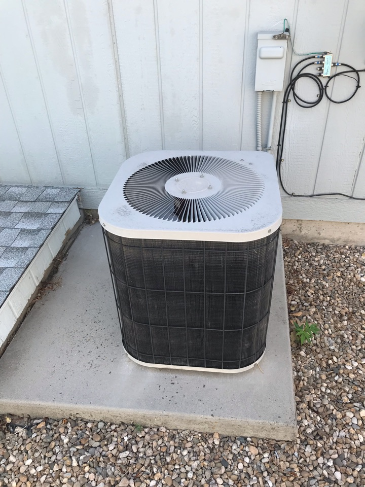 Estimate to replace old Goodman Ac with an Amana Heat Pump and Air Handler