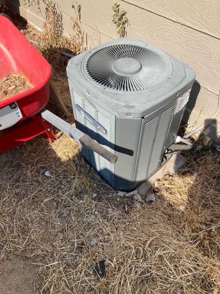 Replacing heat pump #Amana