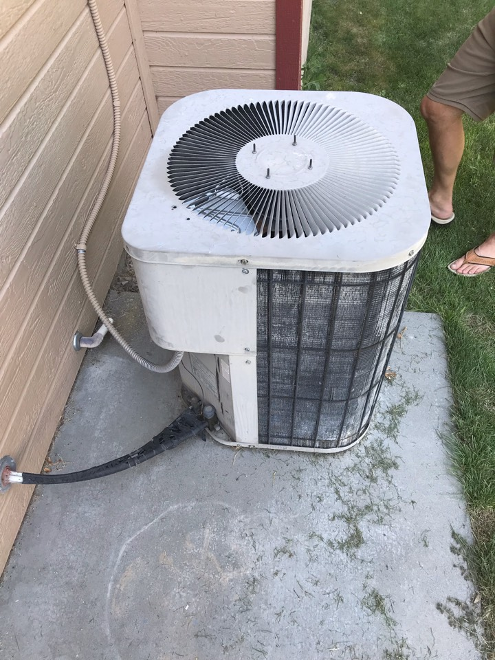 Replacing old Goodman Ac with a Rheem Air Conditioner