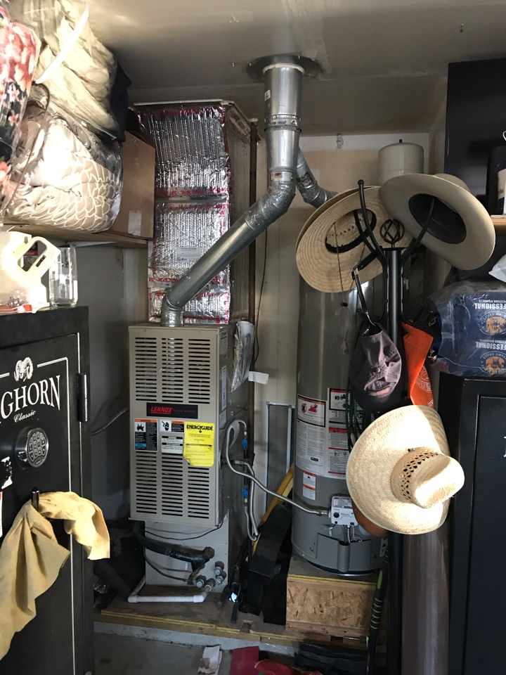 Estimate to replace existing Lennox HVAC system with new Amana furnace and air conditioner