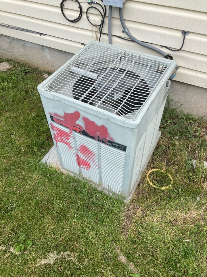 Replacement of a train air conditioner