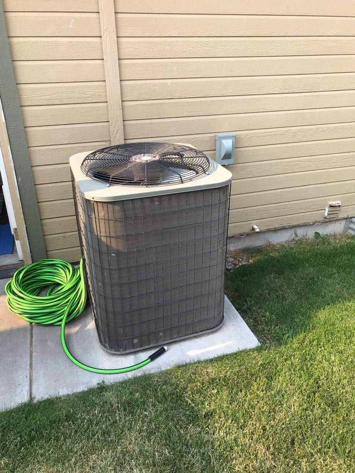 Estimate to replace existing Carrier HVAC system with new Rheem furnace and air conditioner