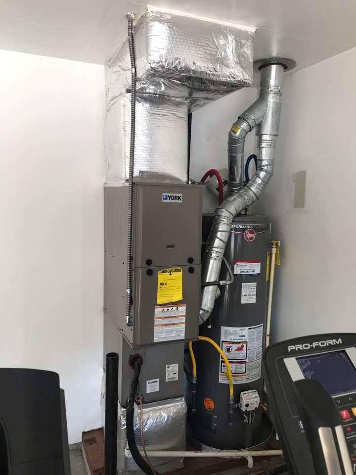 Estimate to replace existing water heater with tankless water heater and new SuperPure water softener and purifier