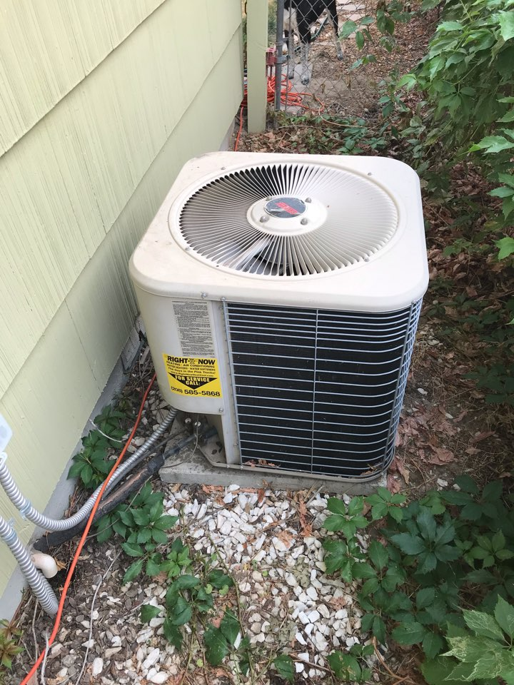 Replacing old Lennox Air Conditioner with an Amana Air Conditioner