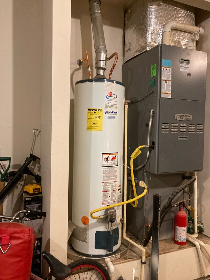 Replacing heating and air conditioning adding water softener/ purifier