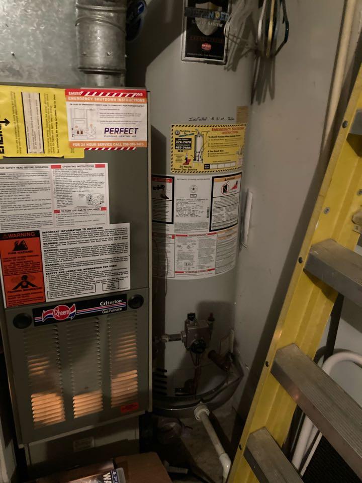 New Amana furnace and AC