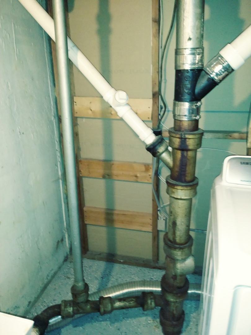 "Framingham, MA - Replace 4"" main drain cast iron near me plumbing rooter services leaking sewage odor PVC clogged drains near me"