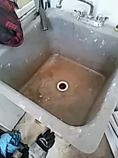 Waltham, MA - Snaking a laundry sink line