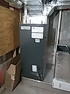 Brookline, MA - New furnace installation