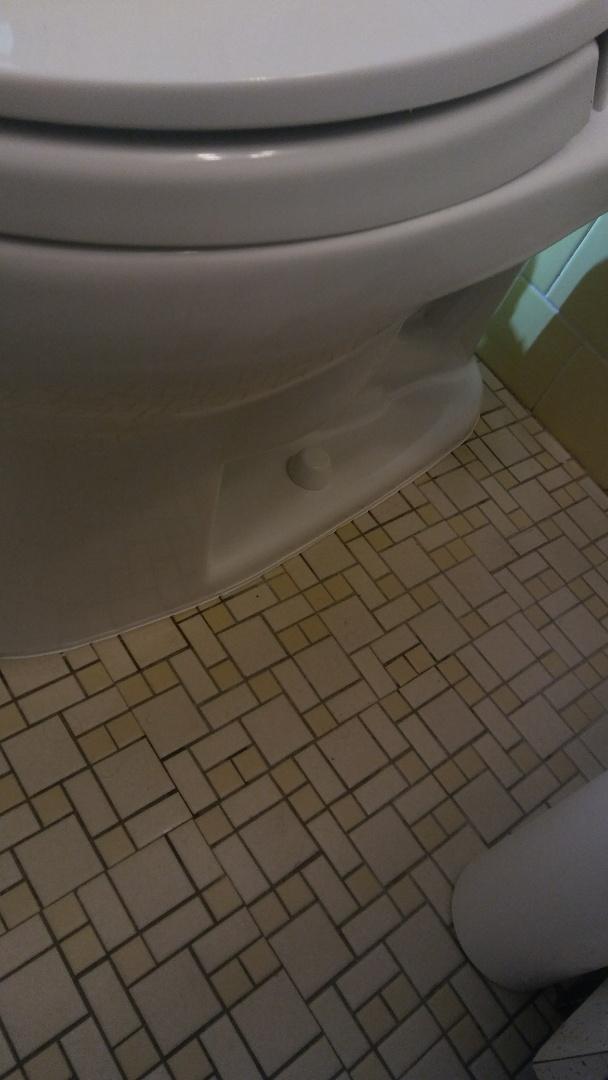 Framingham, MA - Caulking toilets