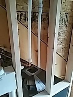 Winchester, MA - Installing heat pex lines in attic