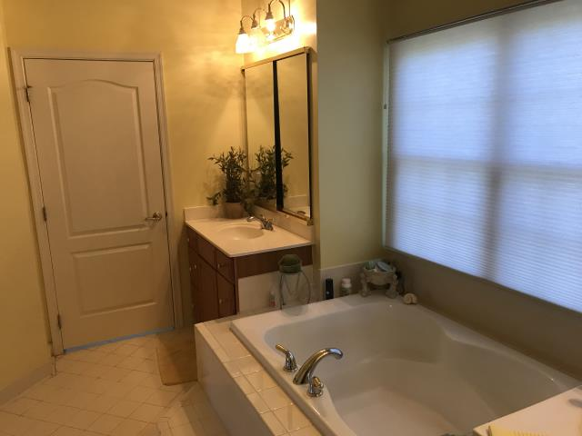 Ashburn, VA - Estimating to complete Full Master bathroom Renovation. Remove the tub and install new Free Standing Tub, new Vanity Cabinets, and etc.