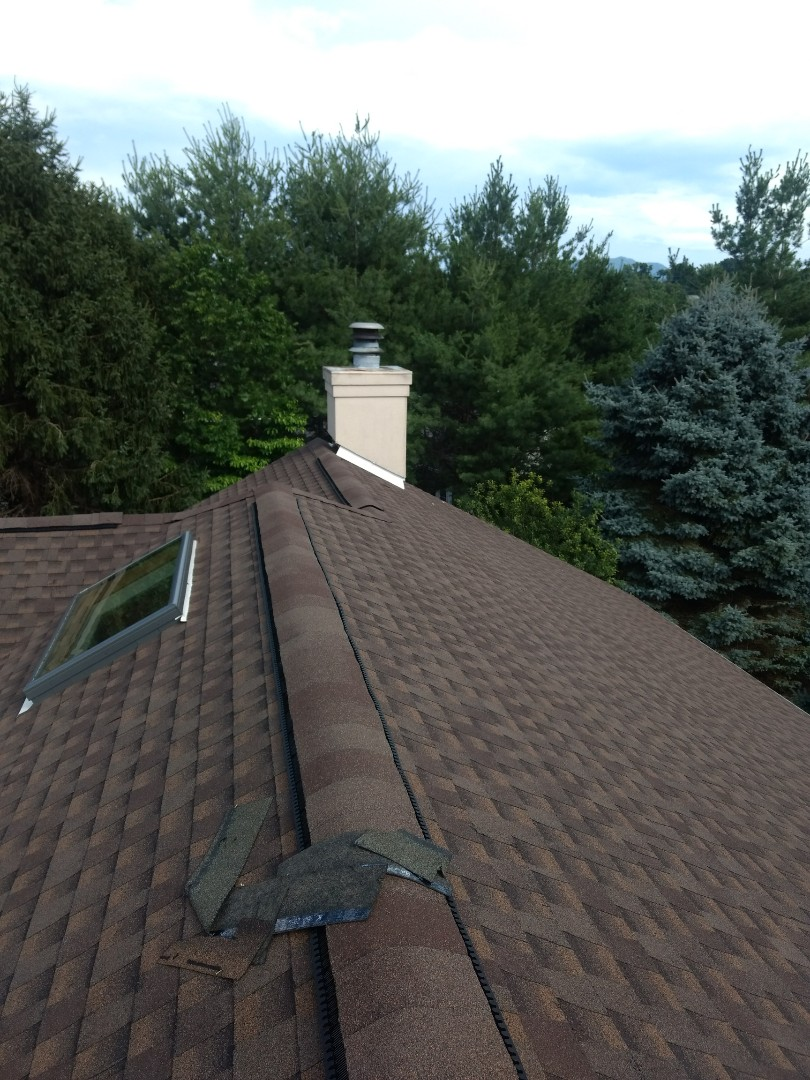 Johnson City, TN - This Homeowner's Association is in need of a Chimney repair on one of their townhomes.