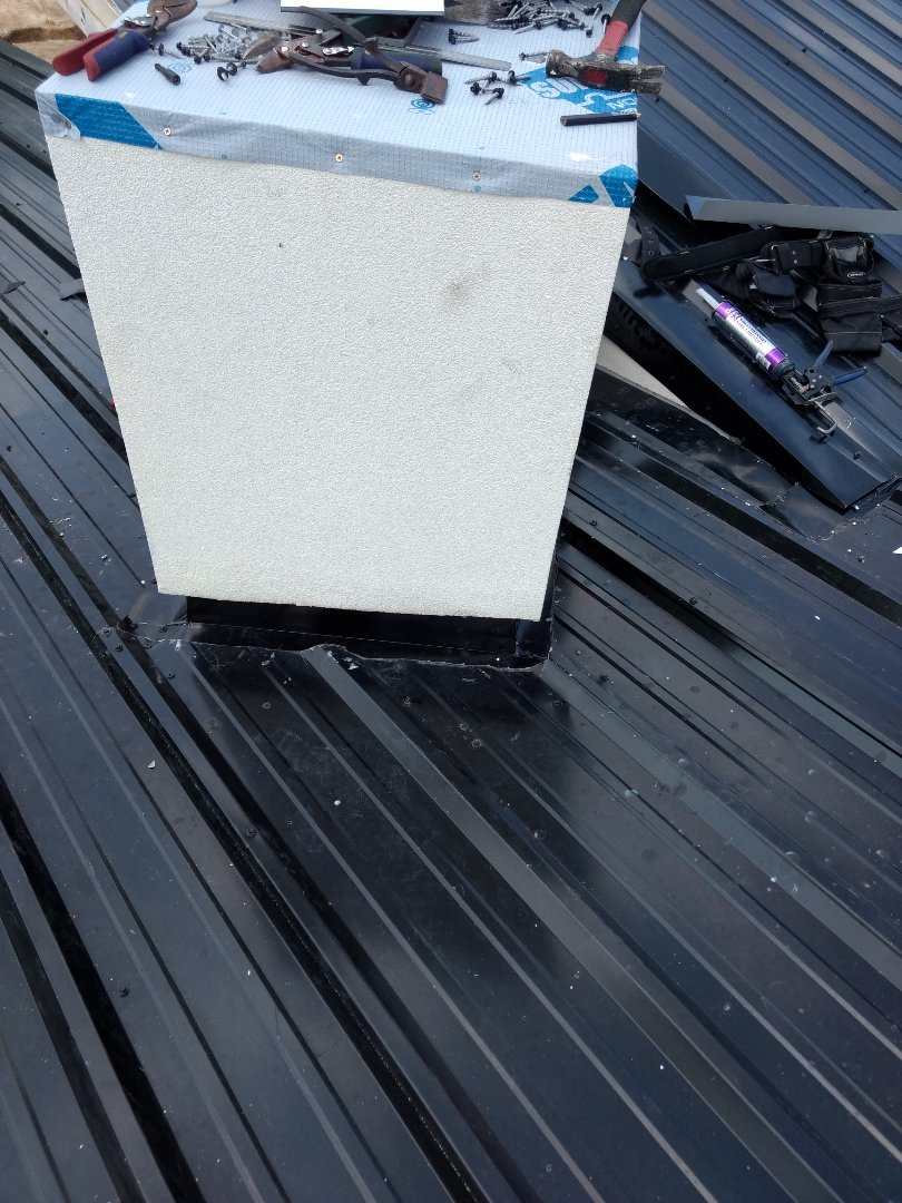Kingsport, TN - Install metal flashing on chimney to prevent leaking