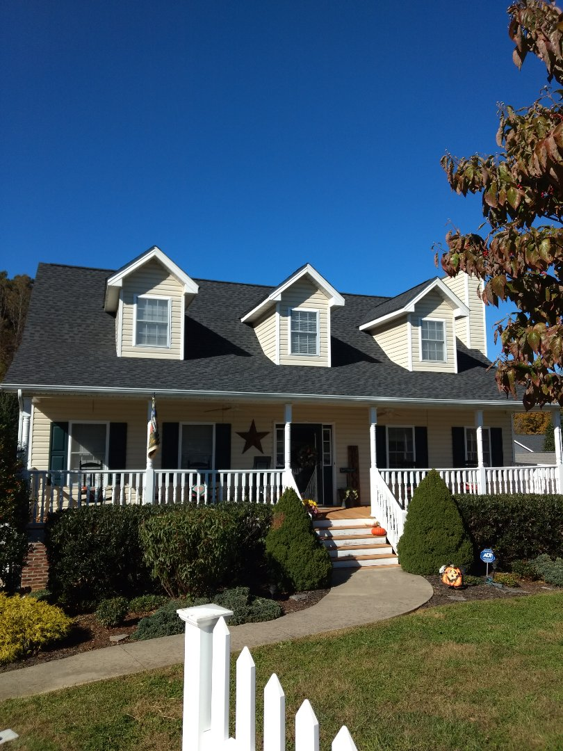 Kingsport, TN - Another quality GAF SHINGLE Roof installation