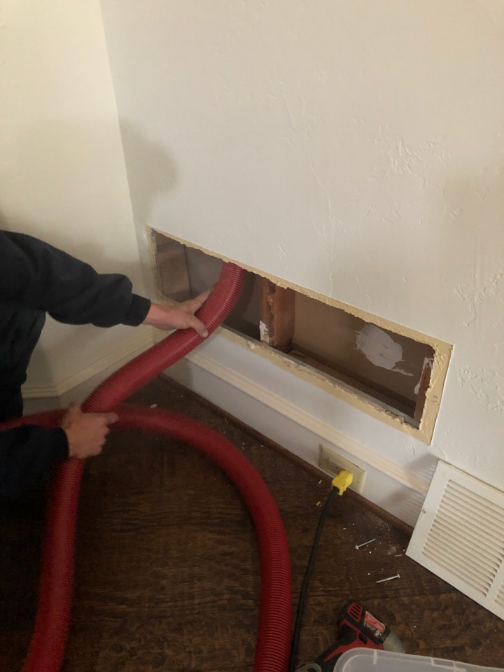Irving, TX - We are currently in the process of duct cleaning!