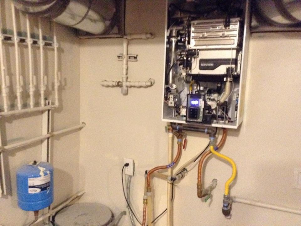 Kirkland, WA - Tankless heater