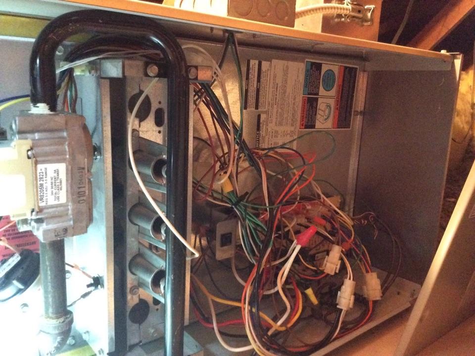 Seattle, WA - Repair of a gas furnace