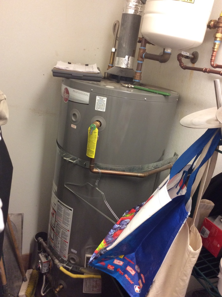 Seattle, WA - Water heater repair