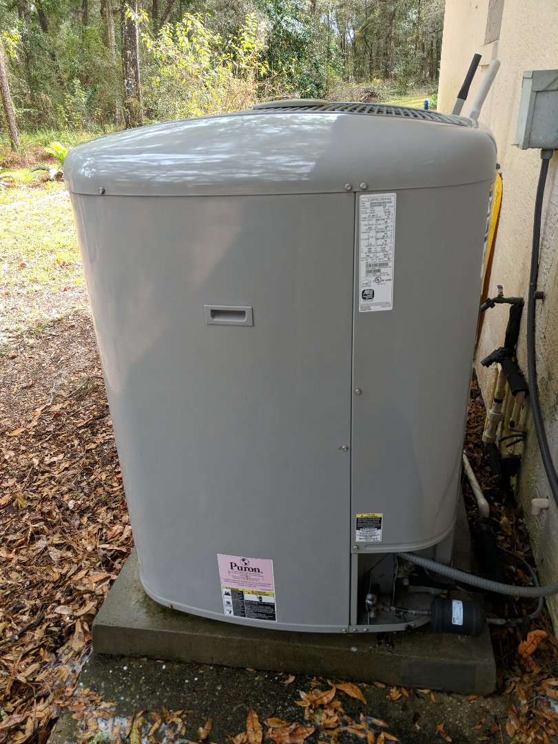 Brooksville, FL - Another tune-up on Carrier Infinity heat pump air conditioning system with variable speed blower and two stage compressor in Brooksville
