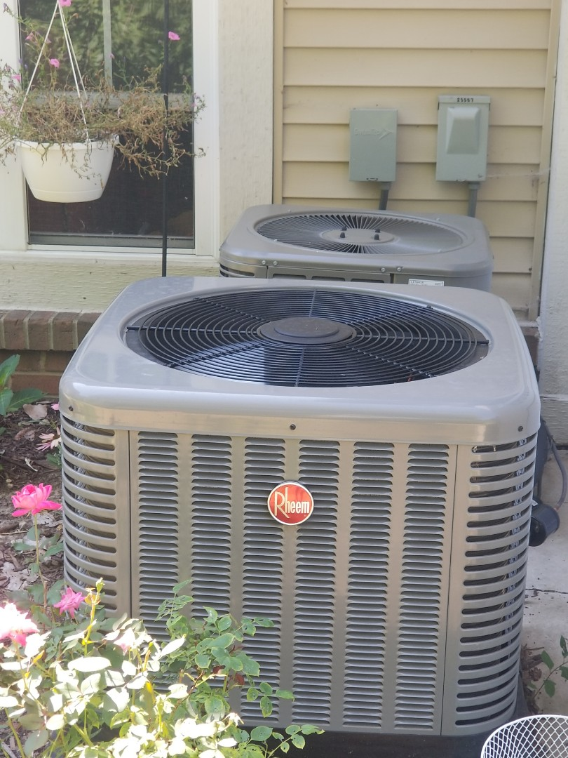 Harrison charter Township, MI - New Rheem air conditioning