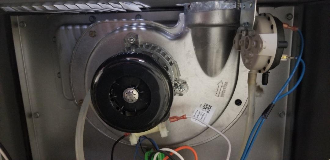 Sterling Heights, MI - Service on Comfortmaker furnace.