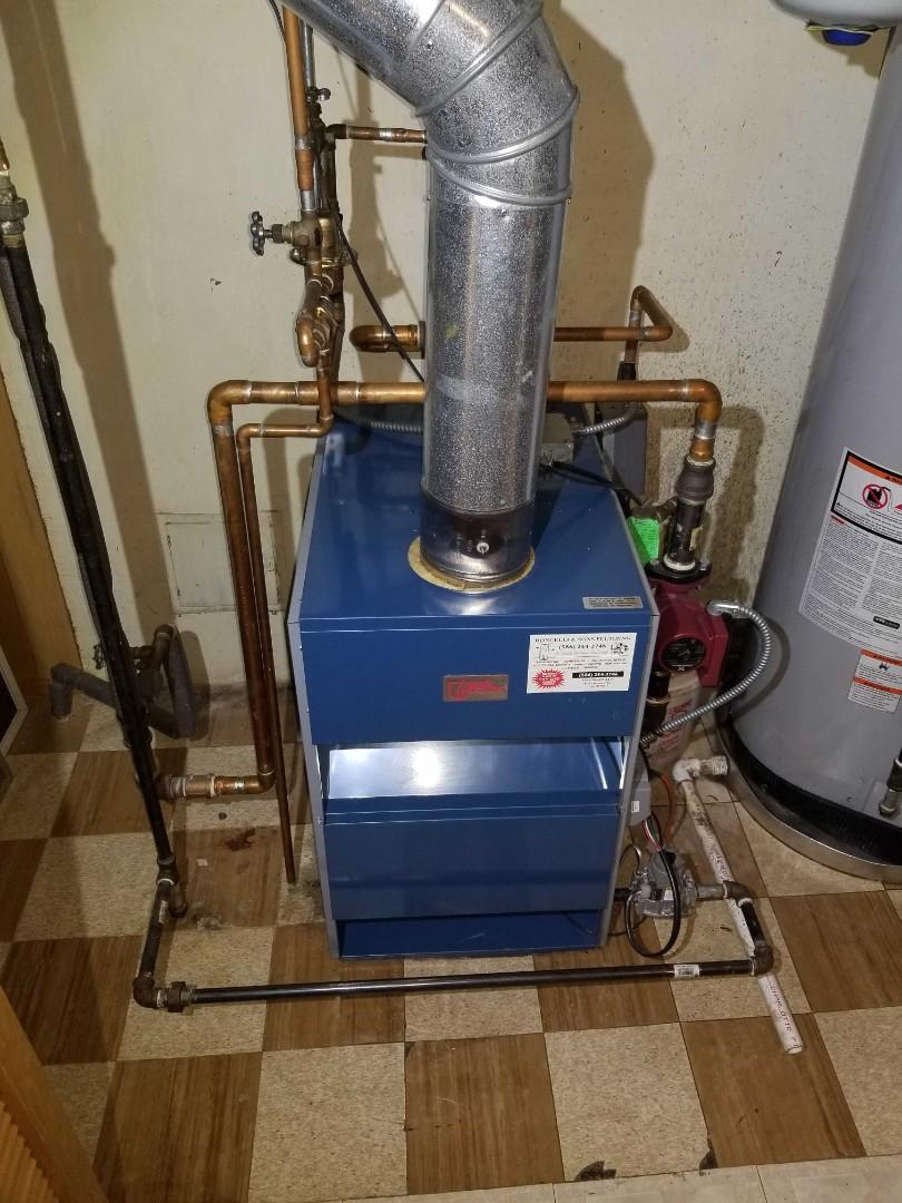 Warren, MI - Replaced aqua stat on boiler.