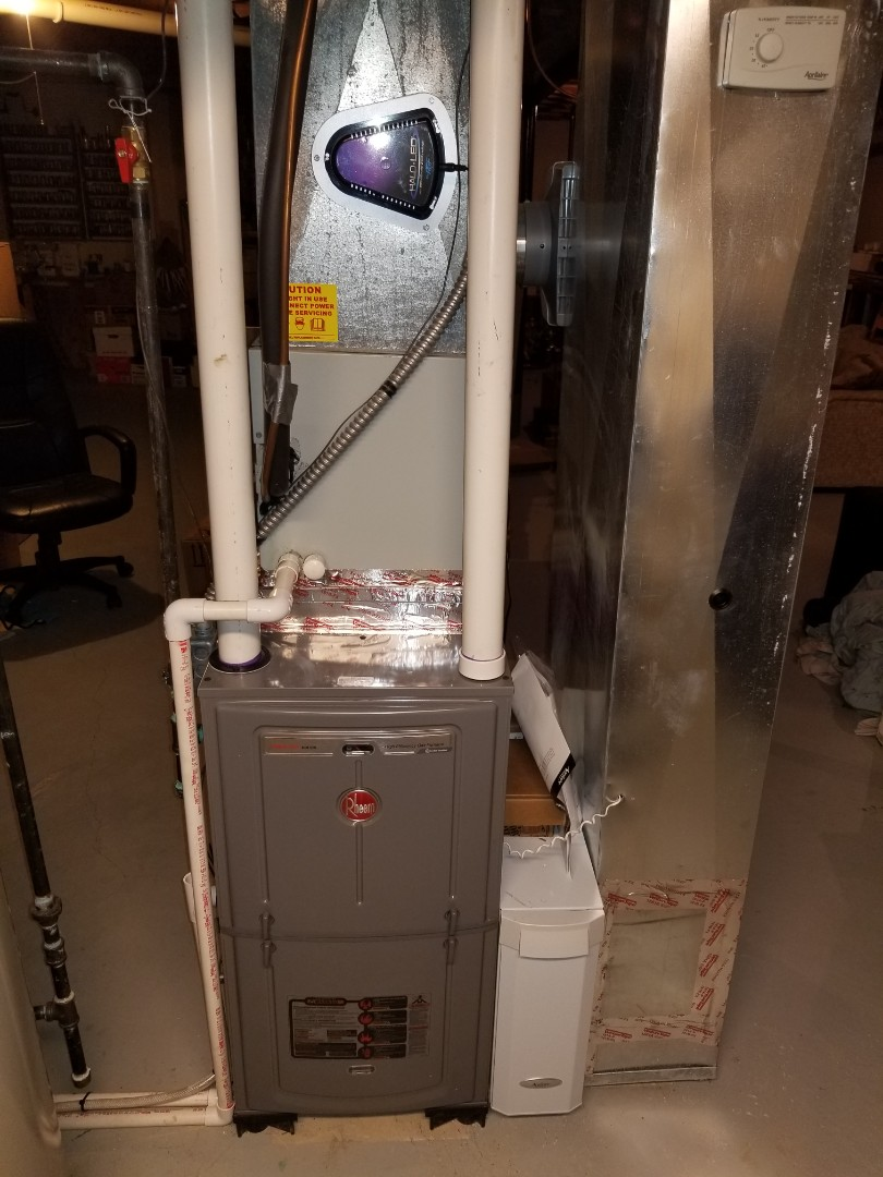 Clinton Township, MI - Installed 96%  Furnace.