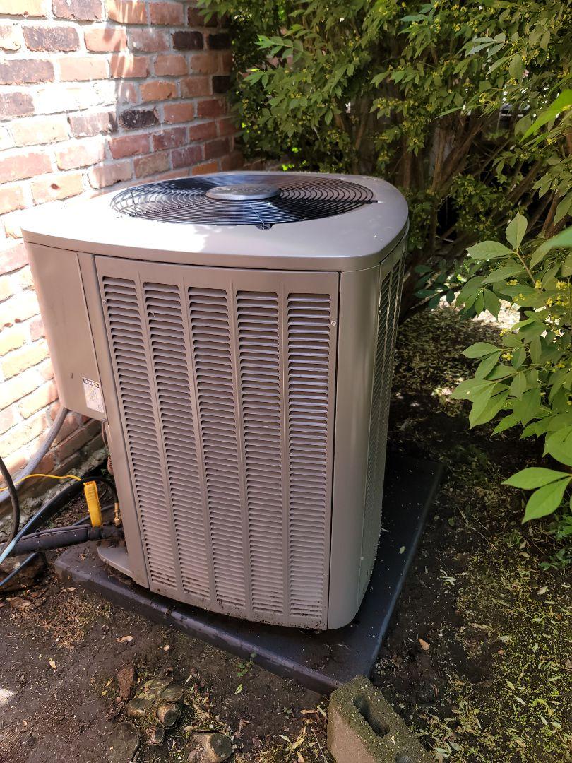 Birmingham, MI - Spring maintenance on Lennox air conditioner