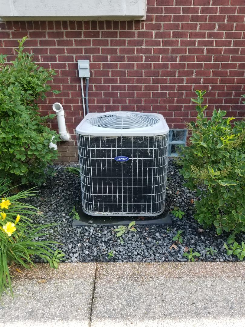 Harrison Township, MI - Repaired carrier  Air conditioner.