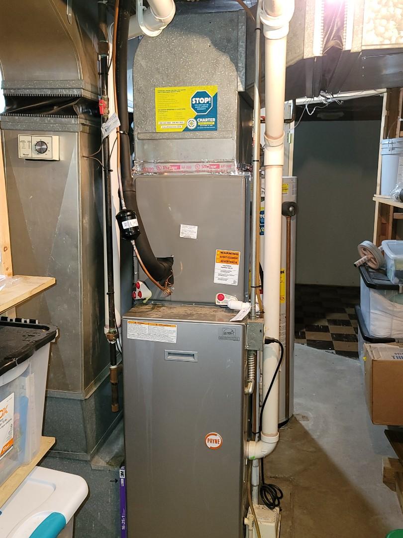 Grosse Pointe Farms, MI - New Rheem Air Conditioning System.