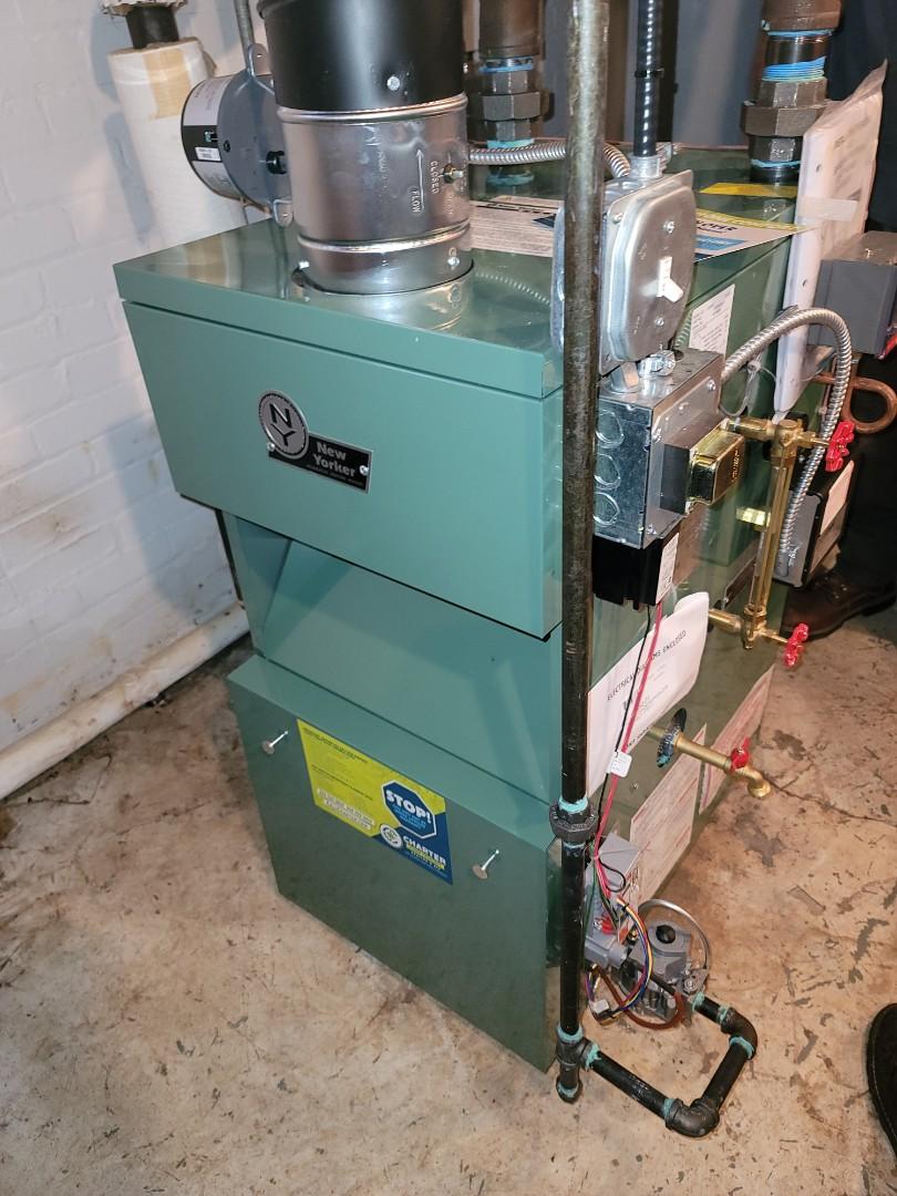 Grosse Pointe, MI - New Steam Boiler