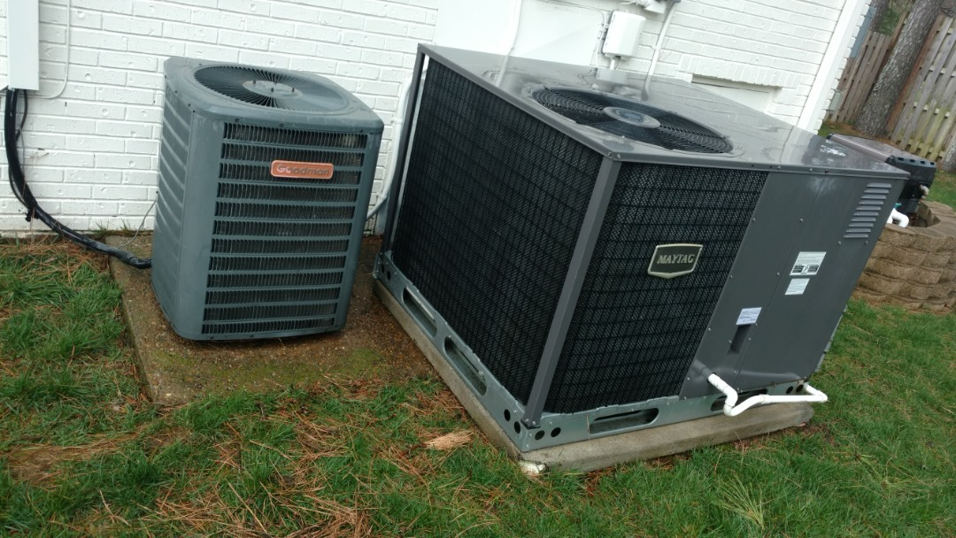 Brentwood, TN - Performed a 3 system Maintenance (2 Goodman units & 1 Maytag unit) for a nice family in Brentwood, TN.
