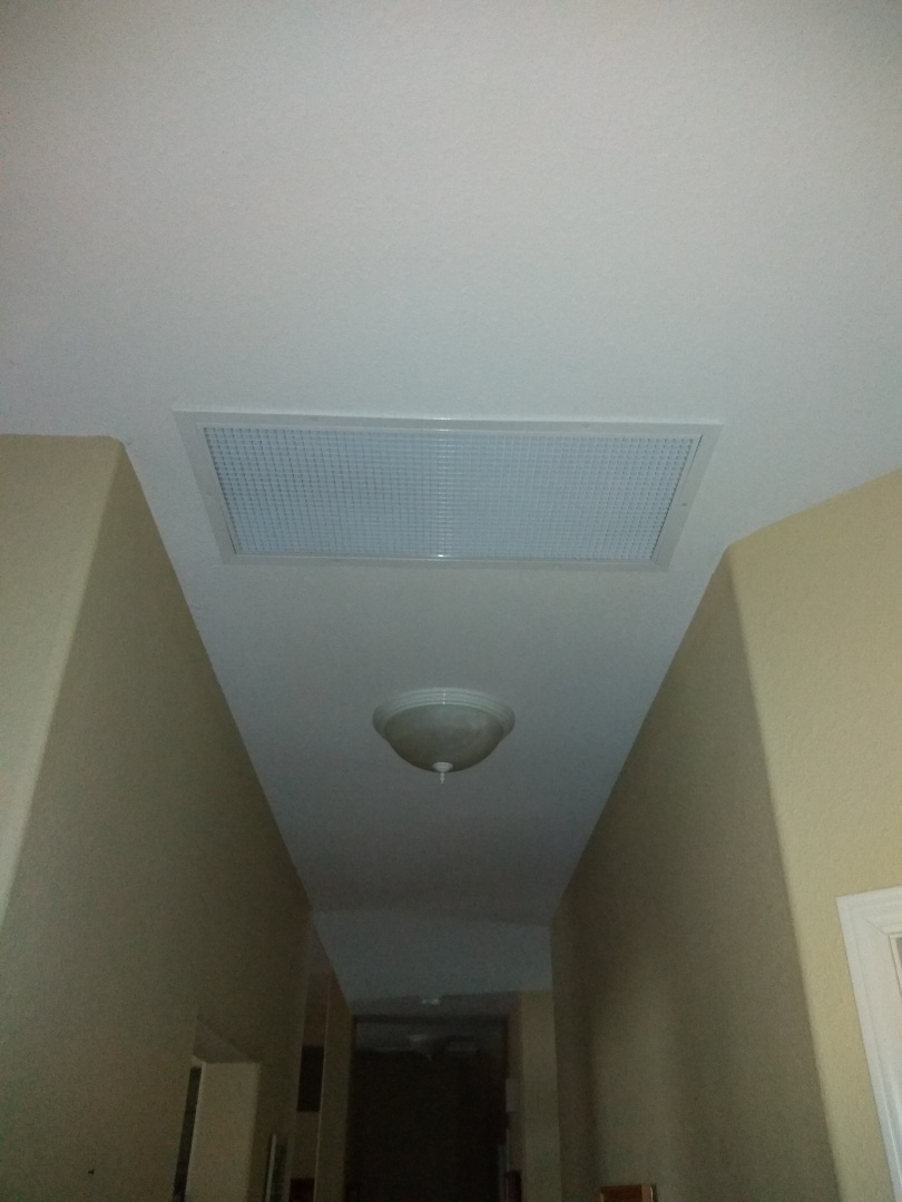 Visalia, CA - Just installed a whole house fan by Quiet Cool, home owner is extremely satisfied!!!