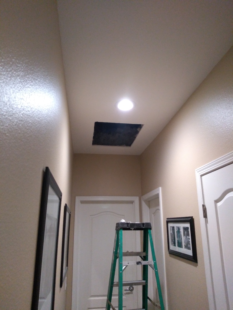 Visalia, CA - Adding a second return to an existing 5 ton system, owner will be pleased with the results.
