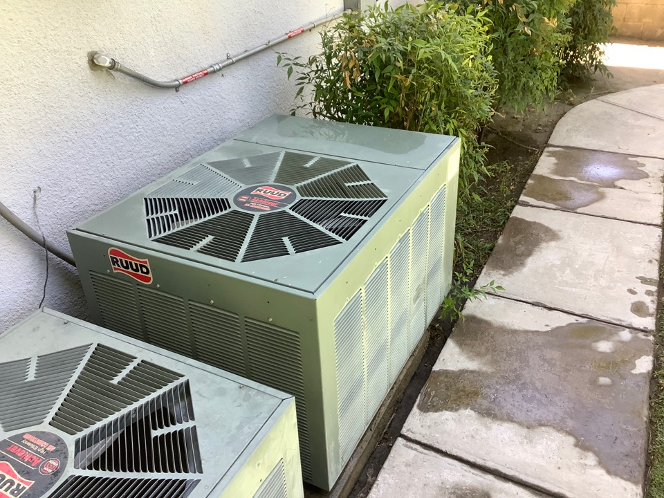 Corcoran, CA - Just finished fixing this RUUD's condenser fan