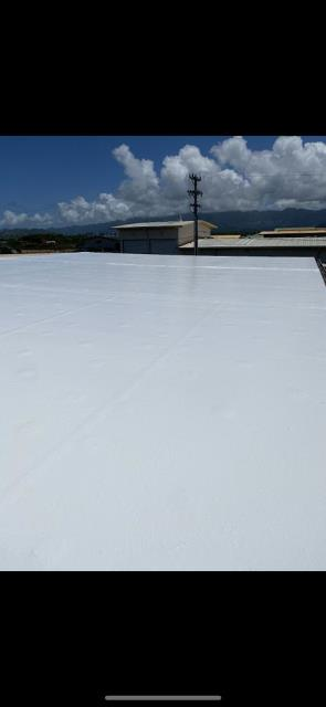 MCBH K BAY, HI - Recently completed commercial project on the Kaneohe Marine Base. We really enjoyed repairing this roof with Gaco.
