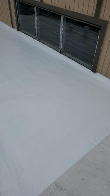 Kaneohe, HI - This one was a little tricky but glad we were able to help with this small commercial roofing repair.