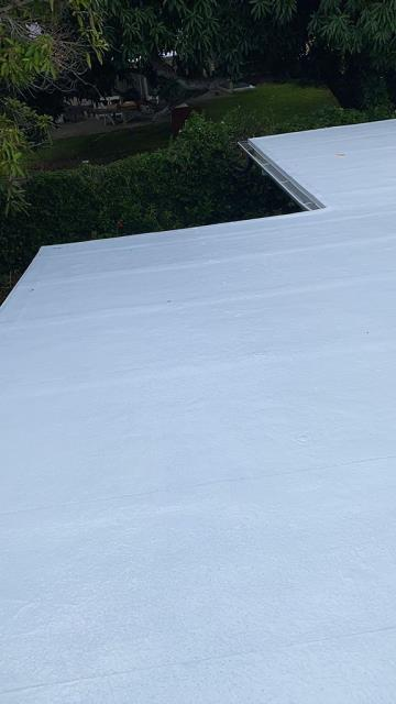 Kailua, HI - This Gaco Silicone Roofing Project was great to work on! We love great customers.