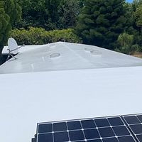 Kailua, HI - What a great way to prolong your Modified Bitumen or Low Sloped Roofs using Gaco Silicone Coating. This customer was super happy with their results.