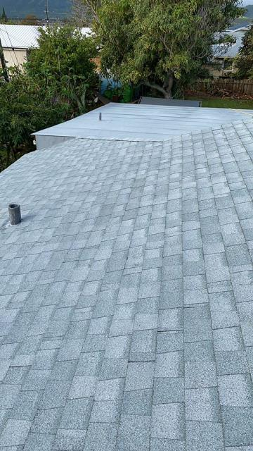 Kailua, HI - CertainTeed Shingles on this great customers roofing project. Great look with the Silver Birch.