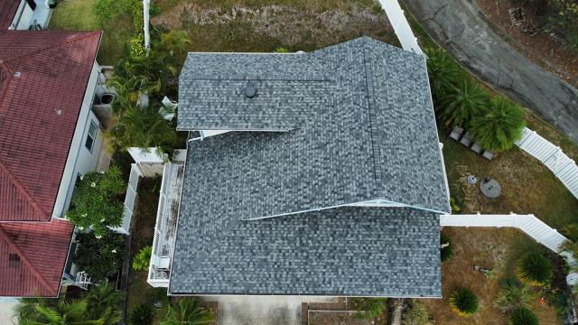 Kailua, HI - What a wonderful couple to work with on this Project. We removed existing Shingles and Installed CertainTeed Landmark Pro Shingles. Great look on this home. Roofing Done Right