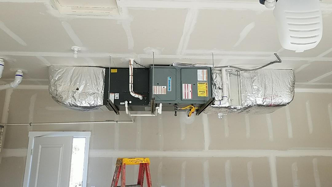 Ellensburg, WA - Air conditioner/Furnace installation