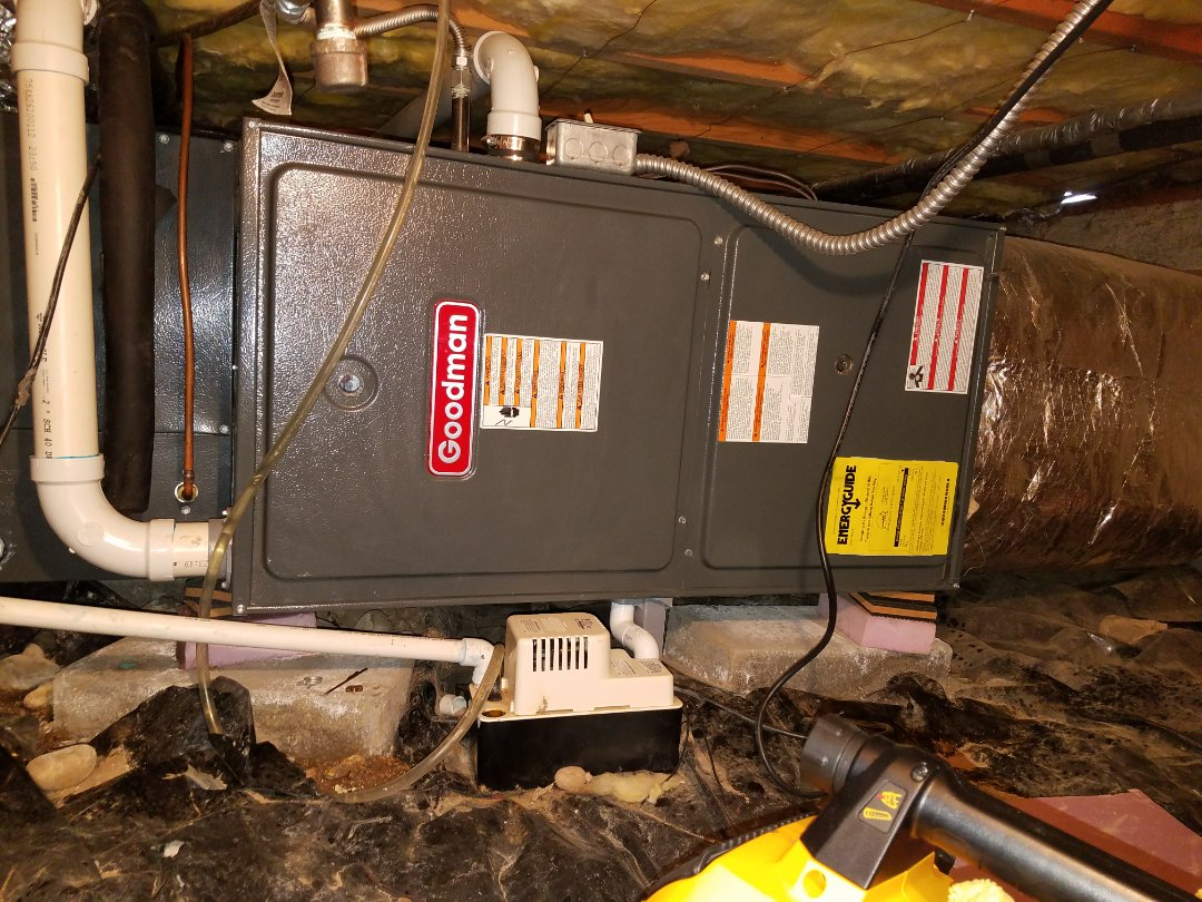 Ellensburg, WA - HVAC Maintenance On Goodman Gas Furnace