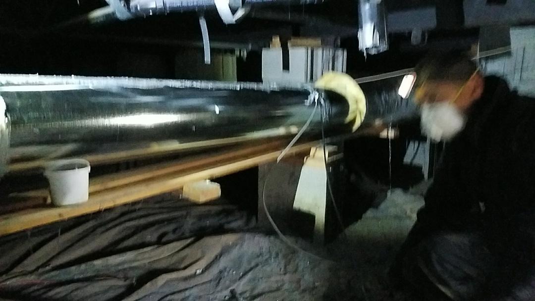 Ellensburg, WA - Duct repair