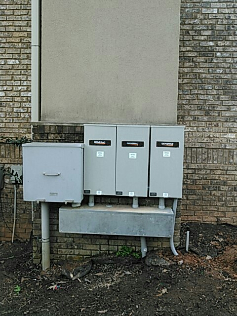 Gainesville, GA - Installed 3 200amp automatic transfer switches