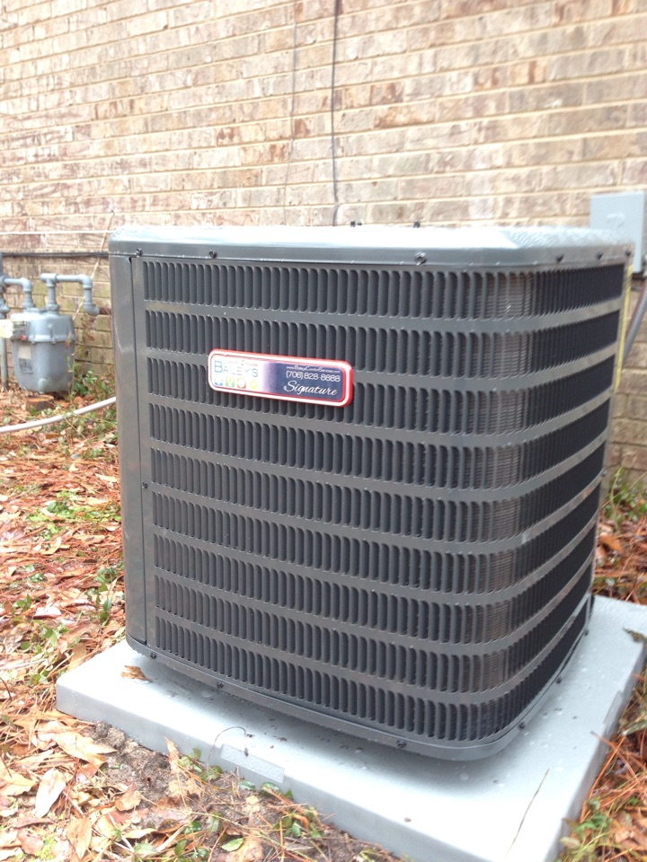 Clearwater, SC - New gas furnace and 14 seer air conditioner installation