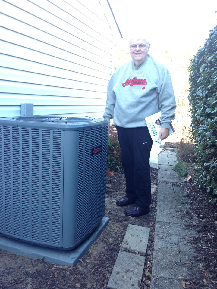 Aiken, SC - New energy-efficient 14 seer heat pump system installation